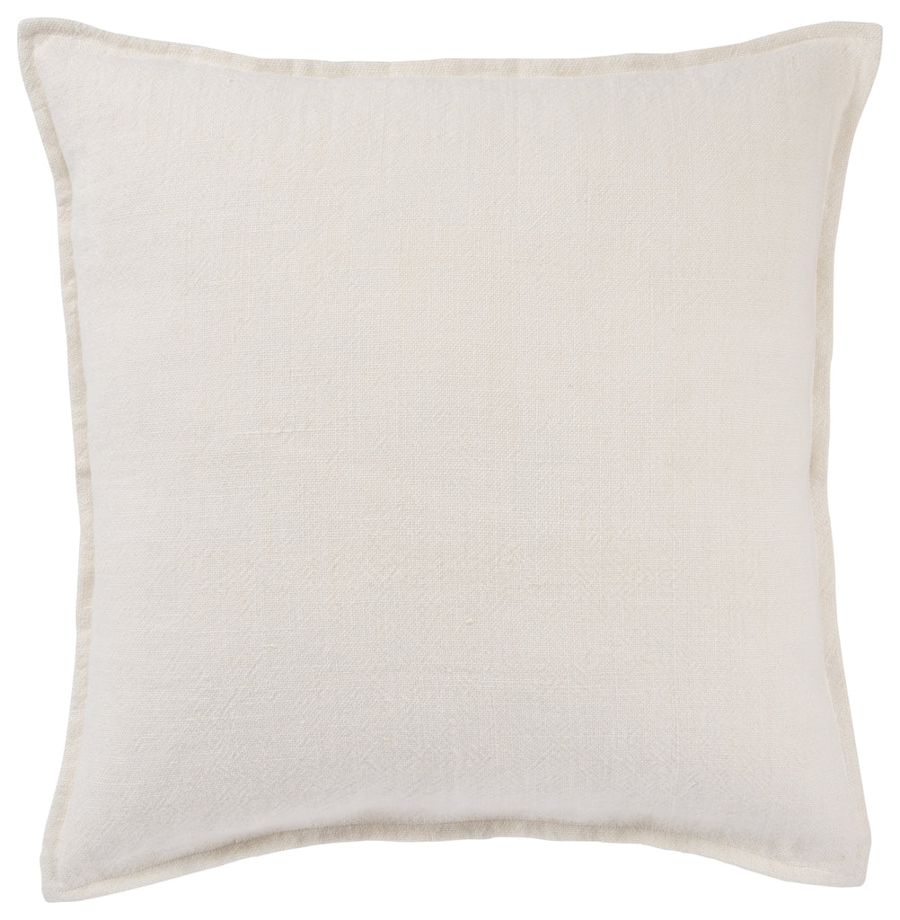 Blanche Pillow in Whisper White design by Jaipur Living