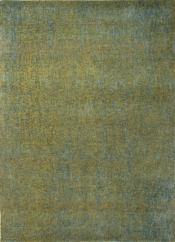 Britta Plus Rug in Dark Citron & Storm Blue design by Jaipur