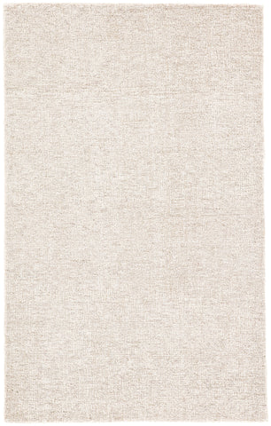 Oland Solid Rug in Feather Gray & White Alyssum design by Jaipur