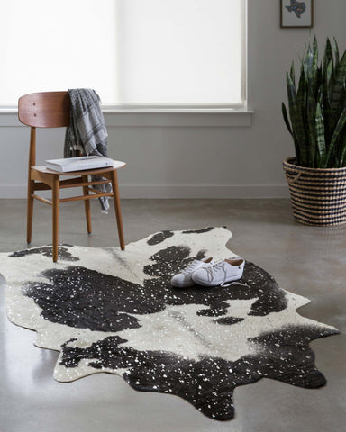 Bryce Rug in Black & Silver design by Loloi