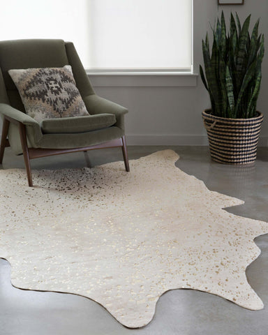 Bryce Rug in Ivory & Champagne design by Loloi