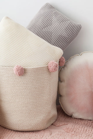 Bubbly Basket in Natural & Nude design by Lorena Canals