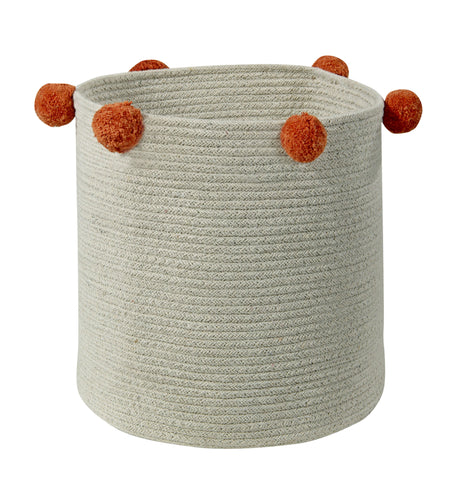 Bubbly Basket in Natural & Terracota design by Lorena Canals