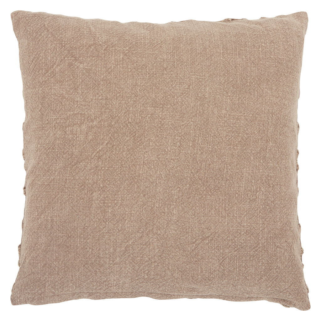 Espanola Trellis Pillow in Taupe
