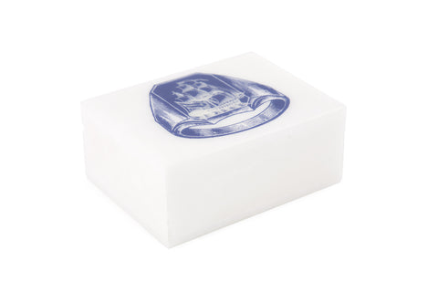 Ship Ring Alabaster Box design by Thomas Paul