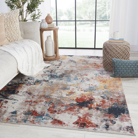 Bardane Abstract Multicolor Rug by Jaipur Living