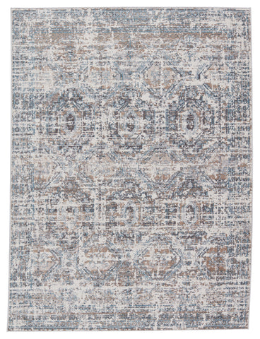 Anastasia Medallion Grey & Blue Rug by Jaipur Living