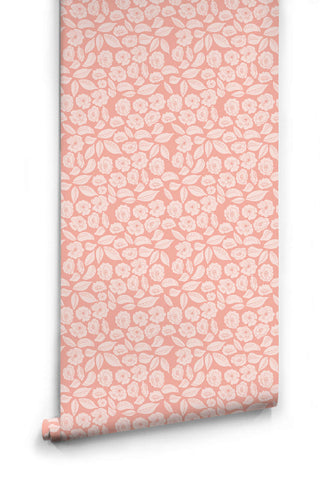 Baby Bloom Wallpaper from the Love Mae Collection by Milton & King