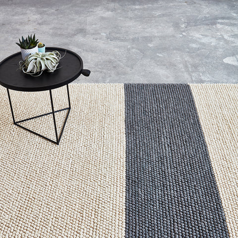 Bala Rug in Raven by Gus Modern