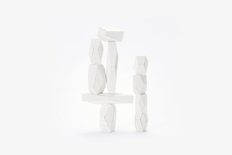 Balancing Blocks in White design by Areaware