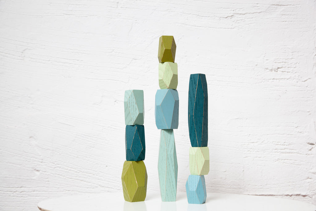 Balancing Blocks - Ocean design by Areaware