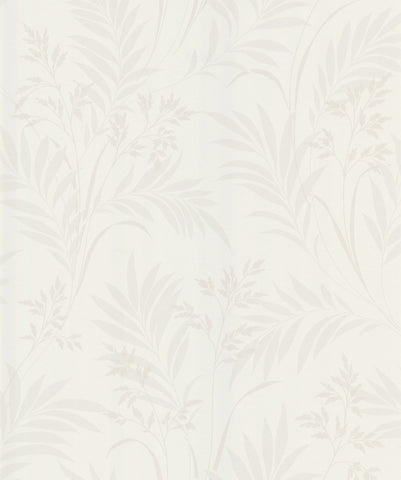 Bali Hai Foliage Wallpaper in Cream by Brewster Home Fashions