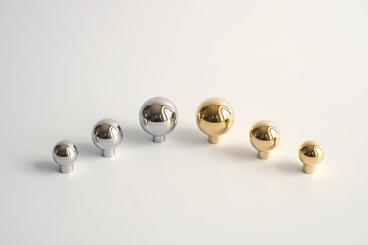 Convex Knob in Various Colors & Sizes