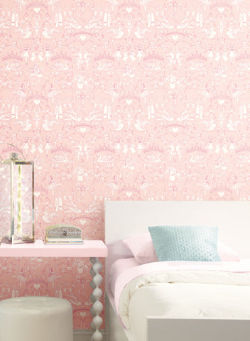 Pink Wallpaper Classic And Contemporary Looks For Your Space