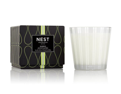 Bamboo 3-Wick Candle design by Nest