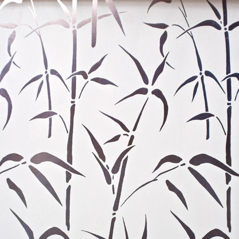 Bamboo Frosted Translucent Contact Wallpaper by Burke Decor