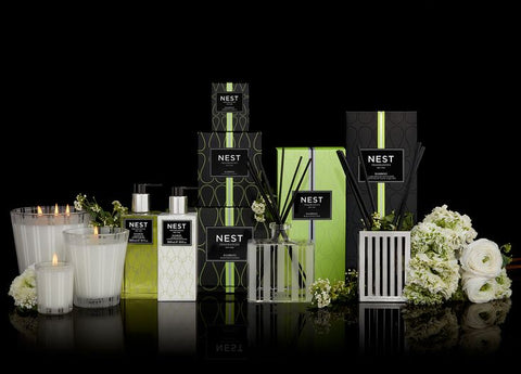 Bamboo Luxury Reed Diffuser design by Nest Fragrances