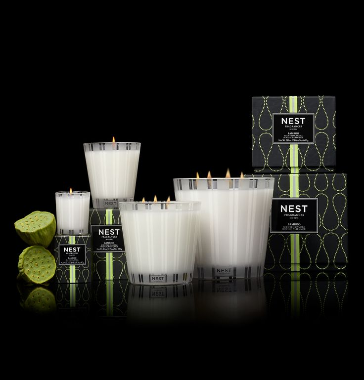 Bamboo Classic Candle design by Nest