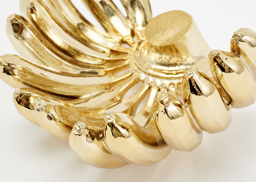 Reality Banana Bowl in Gold design by Areaware