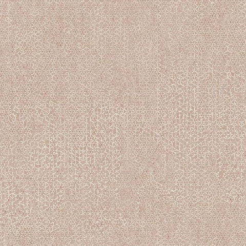 Bantam Tile Wallpaper in Coral from the Tea Garden Collection by Ronald Redding for York Wallcoverings