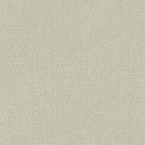 Sample Bantam Tile Wallpaper in Grey from the Tea Garden Collection by Ronald Redding for York Wallcoverings