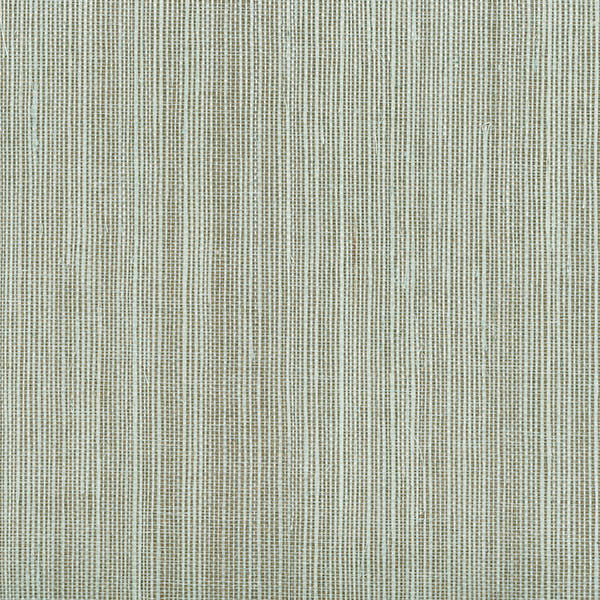 Sample Barbora Aqua Grasscloth Wallpaper from the Jade Collection by Brewster Home Fashions