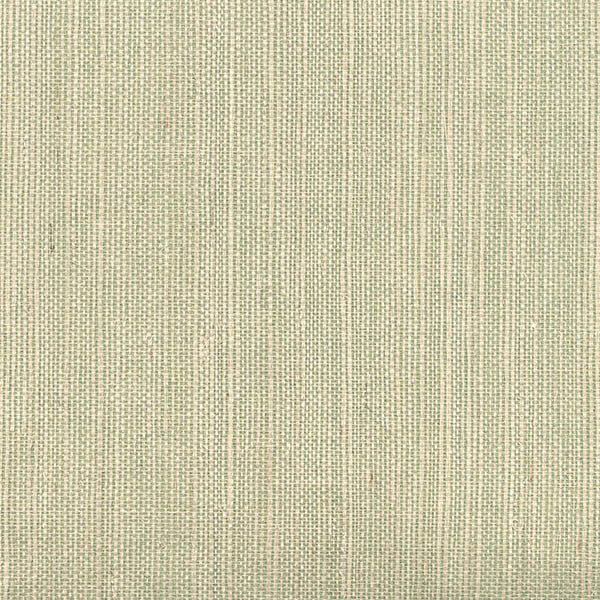 Sample Barbora Light Green Grasscloth Wallpaper from the Jade Collection by Brewster Home Fashions