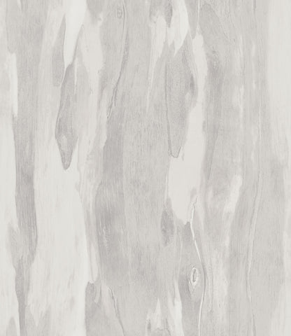 Bark Wallpaper in Silver and Neutrals from the Aerial Collection by Mayflower Wallpaper