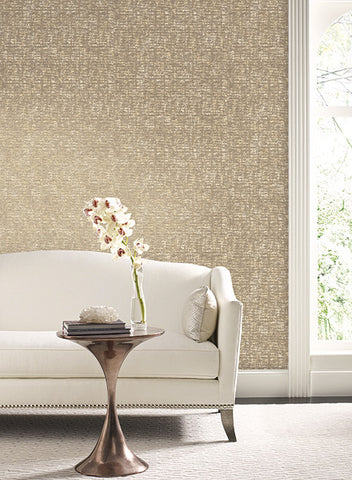 Barkcloth Wallpaper by Antonina Vella for York Wallcoverings