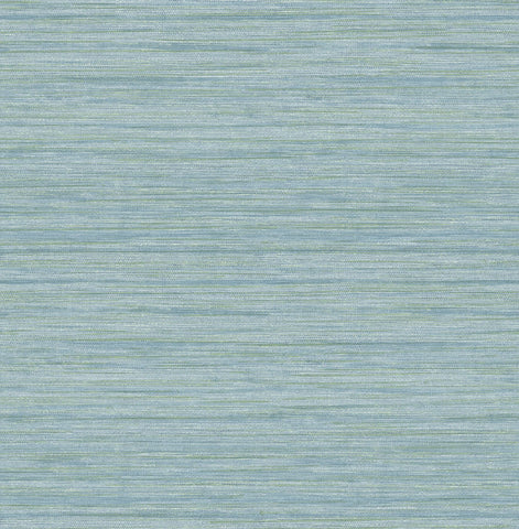 Barnaby Faux Grasscloth Wallpaper in Light Blue from the Scott Living Collection by Brewster Home Fashions