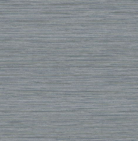 Barnaby Faux Grasscloth Wallpaper in Slate from the Scott Living Collection by Brewster Home Fashions