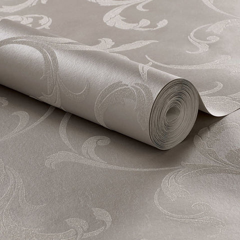 Baroque Bead Wallpaper in Platinum from the Exclusives Collection by Graham & Brown