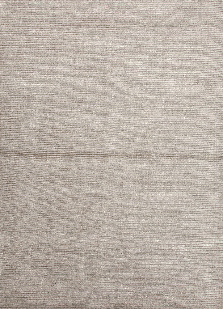 Basis Collection Wool and Art Silk Area Rug in Classic Gray design by Jaipur