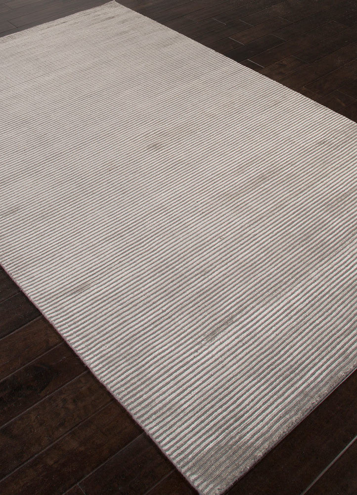 Basis Collection Wool And Art Silk Area Rug In Medium Grey