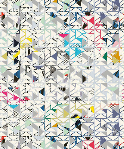Bauhaus Wallpaper from the Wallpaper Republic Collection by Milton & King