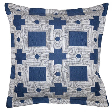 Bay Geo Pillow in Various Sizes
