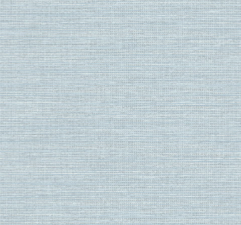 Sample Beachgrass Wallpaper in Blue Oasis from the Beach House Collection by Seabrook Wallcoverings