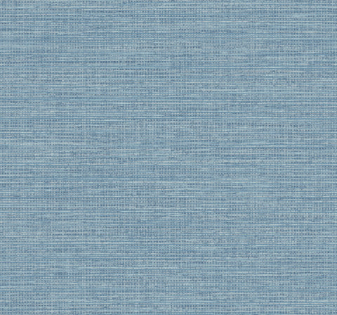 Beachgrass Wallpaper in Coastal Blue from the Beach House Collection by Seabrook Wallcoverings