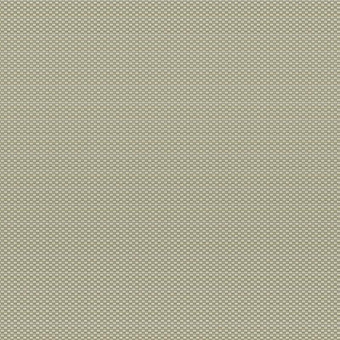 Becca Textured Weave Wallpaper in Pale Metallic Green by BD Wall