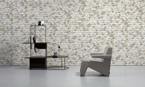 Beehive Wallpaper by Mr & Mrs Vintage for NLXL Monochrome Collection