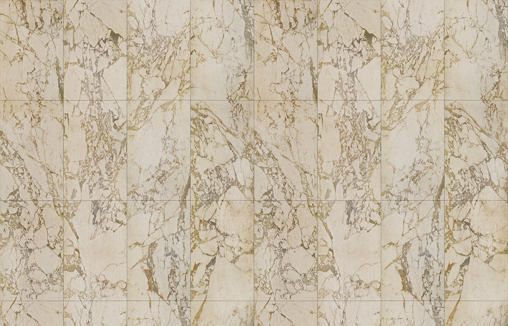 Sample Beige Marble Wallpaper design by Piet Hein Eek for NLXL Wallpaper
