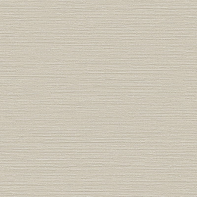 Sample Belle Textured Plain Wallpaper in Grey Pearl by BD Wall