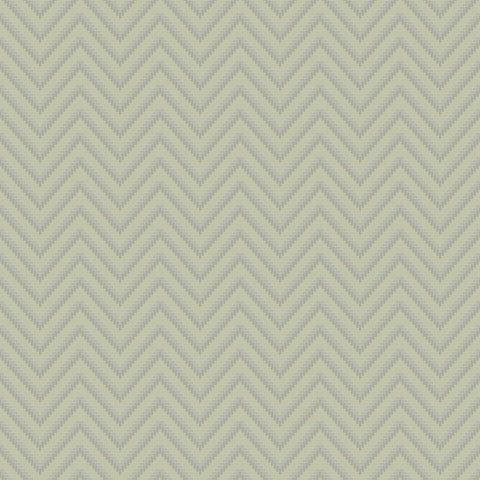 Bellona Textured Chevron Wallpaper in Pale Green and Pearl by BD Wall