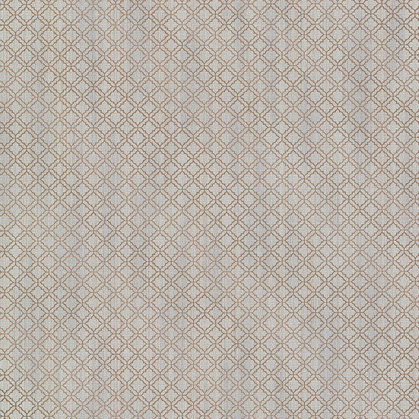 Berkeley Pewter Trellis Wallpaper from the Avalon Collection by Brewster Home Fashions