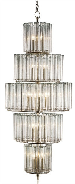 Bevilacqua Large Chandelier design by Currey & Company
