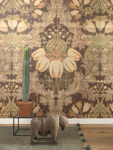 Sample Big Pattern Luther Wall Mural by Mr. and Mrs. Vintage for NLXL