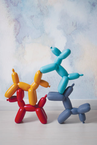 Big Top Balloon Dog Bookend - Red