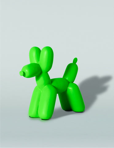 Big Top Balloon Dog Bookend in Kelly Green design by imm Living