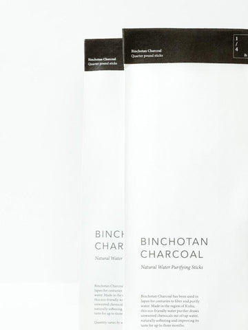 Binchotan Charcoal design by Morihata