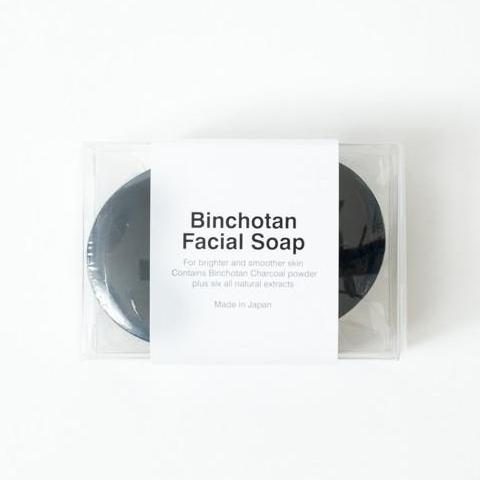 Binchotan Charcoal Facial Soap design by Morihata